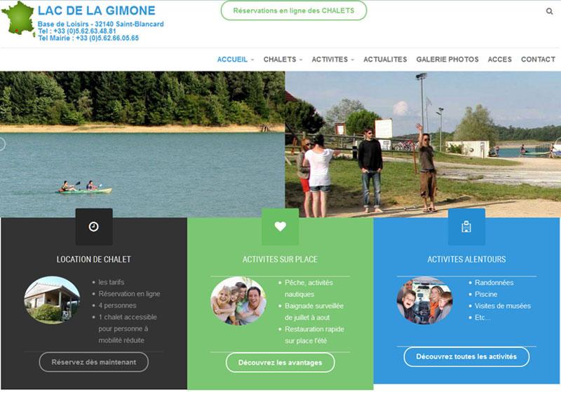 Création site internet pour location de Chalet de vacance