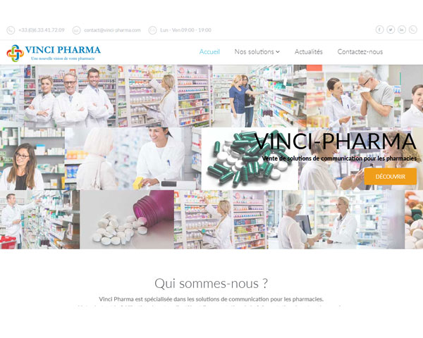 Creation site internet : Solutions de communication pour les pharmacies